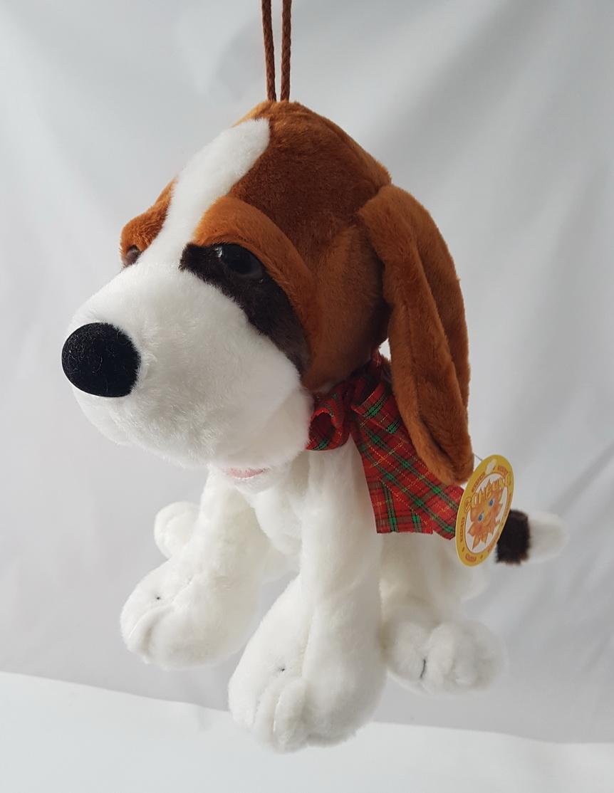 Мягкая игрушка-сумка Собака упаковка для подарка