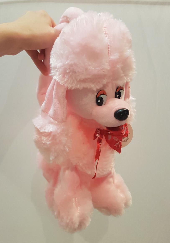 Мягкая игрушка-сумка пудель упаковка для подарка